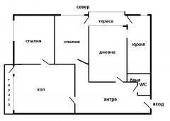4 - стаен апартамент гр. Свищов